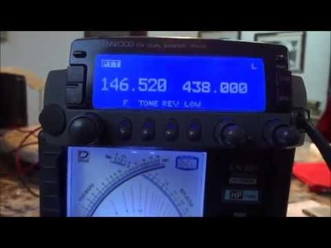KENWOOD TM-V7A TRANSCEPTOR DUAL BAND VHF e UHF