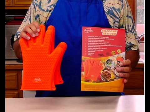 Review: Silicone Heat Resistant Gloves for Cooking, Baking, and Grilling from Papayay