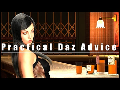 Daz3D Tutorial - 3 Easy Tricks for Better 3D Renders and Pictures