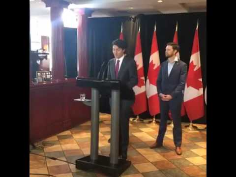 Prime Minister Justin Trudeau Announce Canada Child Benefit First Payment