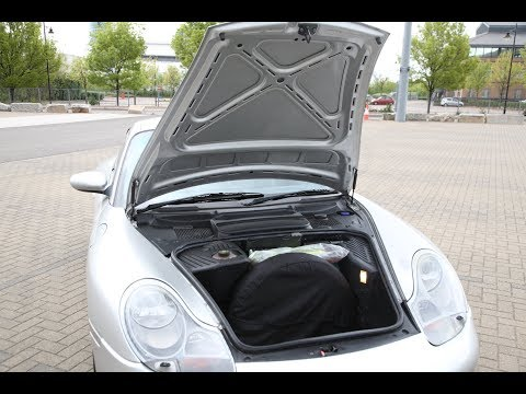 Porsche 911/996 - How to Open Bonnet/hood/trunk with flat or disconnected battery