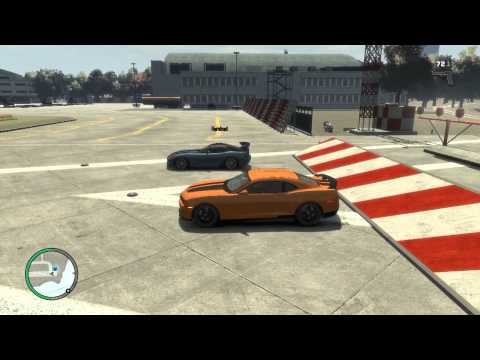 Grand Theft Auto IV Drag Racing (With Car Download Links)