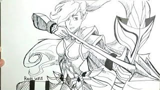 How To Draw Hero Mobile Legends Videos 9videostv