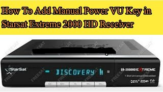 How to add PowerVu Key in Tiger T8 High Class - The Most