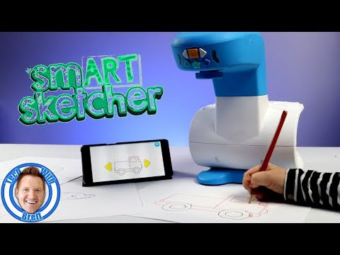 Learn to Draw With the smART sketcher Projector | Review & Tutorial!