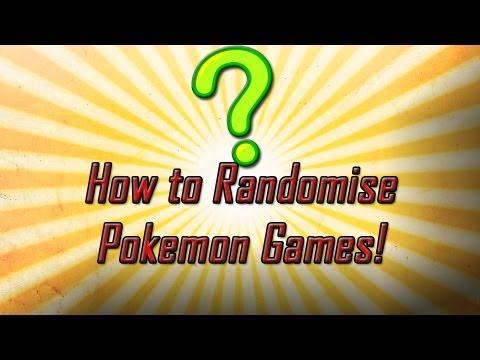 How to Randomize Any Pokemon Game! (Tutorial)