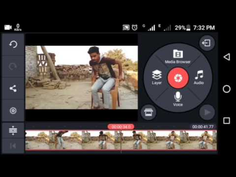 How to make double role Video on Android  7C kinemaster tutorial  7Cvideo Editing 7CAmhassnain