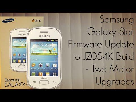 Samsung Galaxy Star Firmware Update to JZ054K Build - Two Major Upgrades - PhoneRadar