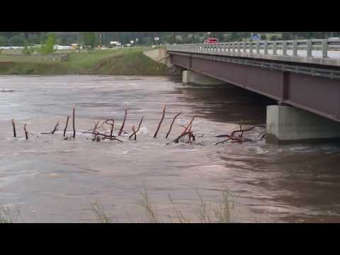 Clark Fork river Flooding May 11, 2018