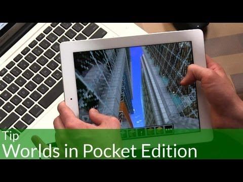 Tip: Managing Worlds in Minecraft Pocket Edition