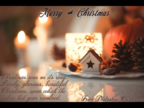 How to Create a Christmas Card in Adobe Photoshop CC