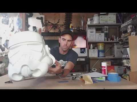 Anovos Classic Stormtooper Build pt1 -Helmet Kit