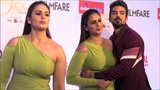Huma Qureshi Hot OUTFIT Dress Style Awards 2017