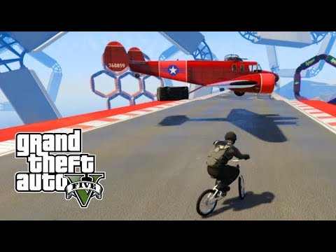 GTA 5 Online PC | Planes vs BMX | TALESPIN