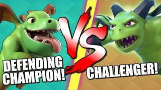 BABY DRAGON vs BETA MINION!! ⚡️Who Wins the CoC Battle ⚡️ Clash of Clans Builder Base