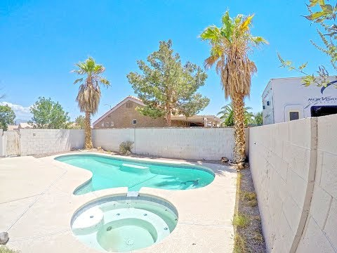 3217 Avawatz Ct, North Las Vegas NV private pool home for sale single story