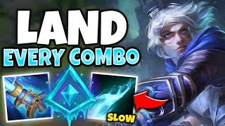 NEVER MISS A SKILLSHOT WITH GLACIAL AP EZREAL! ONE COMBO = ONE KILL! - League of Legends