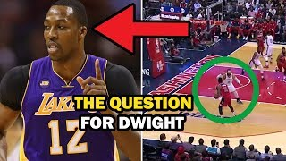 The 1 Thing Dwight Howard Must Do For the Lakers This NBA Season