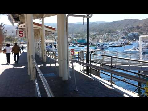 My 4 Plus Hour Trip To Avalon Catalina Island California Depature Off Long Beach 1st Trip #1