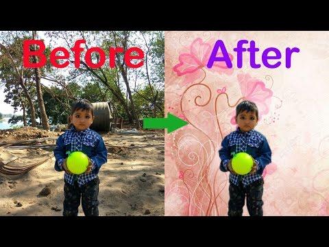 How to change photo background | फोटो का बैकग्राउंड कैसे बदले