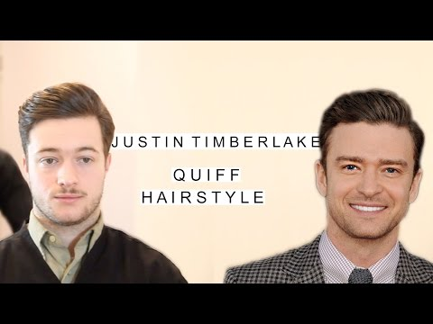 Justin Timberlake Quiff Hairstyle | Business Haircut | Classic Men's Hairstyles