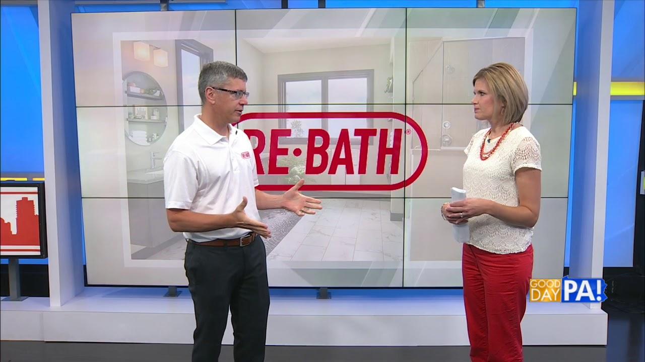 SHOCKING Bathroom Remodel Transformations by Re-Bath of Lancaster