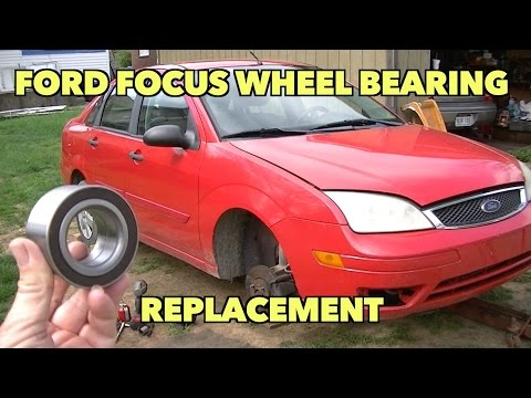 Ford Focus front wheel bearing Replacment...2000-2008