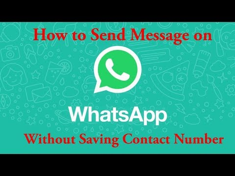 How to send WhatsApp Message without saving contact number