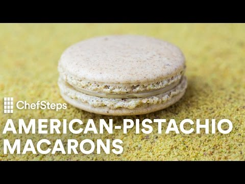 How To Make Mind-Bending Macarons with Pistachios