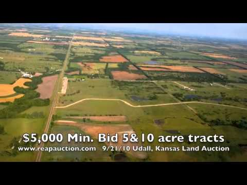 Turtle Rock Estates Kansas 5 & 10 acre Homesites in Tracts and Combinations Land Auction 2010