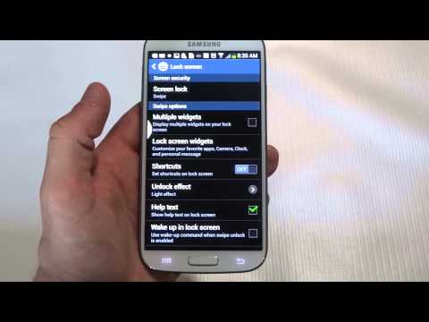 How to Change the Lock Screen Message on the Galaxy S4 - Fliptroniks.com
