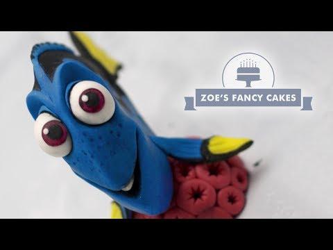 Dory cake topper Finding Dory