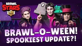 Brawl-o-ween Brawl Talk! Brawl Stars Update!