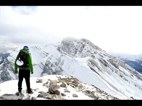 Hiking Ha Ling Peak - Canadian Rockies  - Travel Alberta