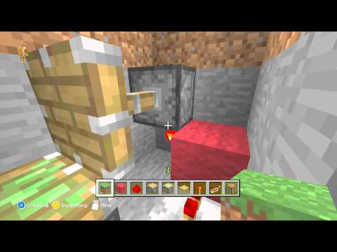 Minecraft Xbox 360 - How To Make A Popup Crafting Table