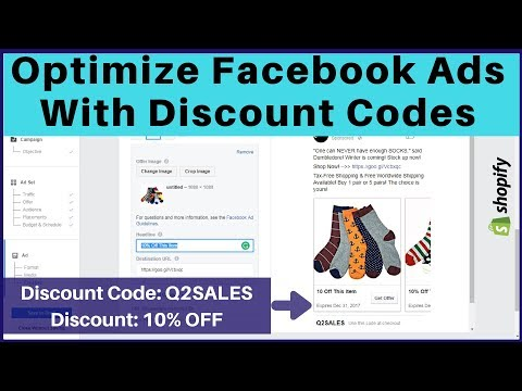 Optimize Facebook Ads for Conversions by Offering Discount Codes 😍