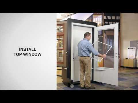 Window Replacement for EMCO® Dual Vent / Triple Track Storm Doors