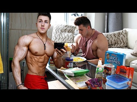 Building Lean Muscle FULL DAY OF EATING with Brandon Harding