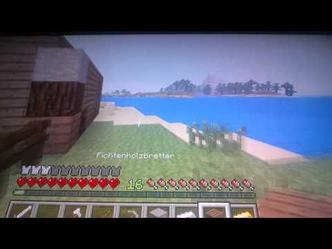 Let's  play  minecraft ps3 edition//part 1//wilkommen