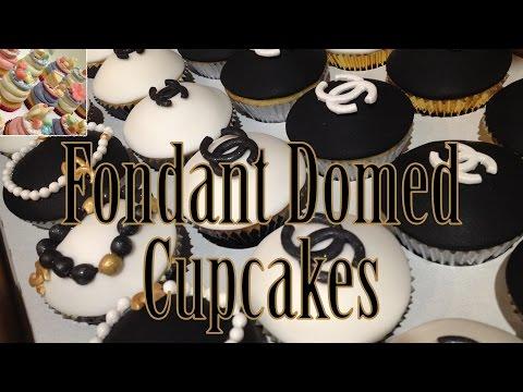 How to Make Domed Fondant Cupcake Tops + Bonus Toppers