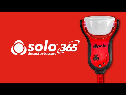 Solo 365 | The new standard for functional testing of smoke detectors