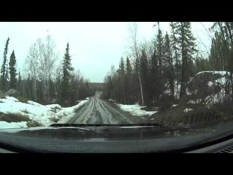 Driving Yellowknife