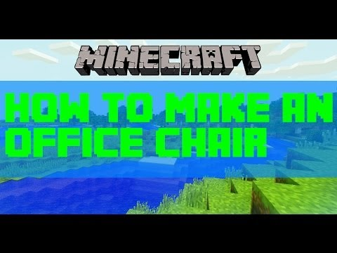 Minecraft: How to make an office chair