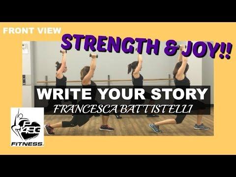 WRITE YOUR STORY || FRANCESCA BATTISTELLI || P1493 FITNESS® || CHRISTIAN FITNESS