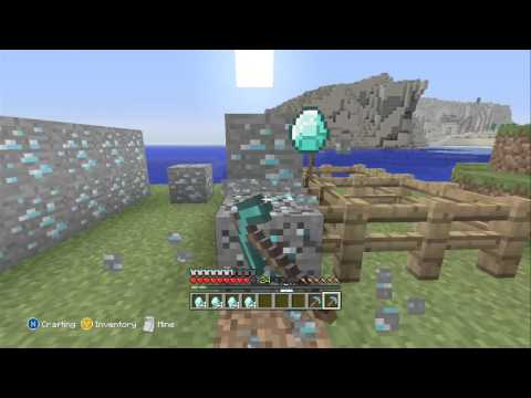 Minecraft Xbox 360 - Mining 1000 Diamond Ore Blocks.