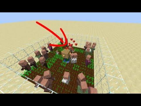 VILLAGER BREEDER TUTORIAL!! (Minecraft 1.12+)