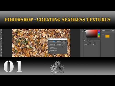 Photoshop [Game Art] Creating Seamless Textures [Tutorial] 01