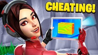 He CHEATS to Win 100K VBUCKS... (Fortnite Find the Button)