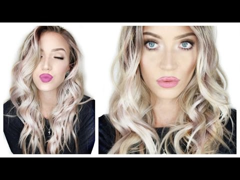 Beachy Waves Hair Tutorial (Good for Thick, Long of Difficult Hair!) | Stephanie Lange