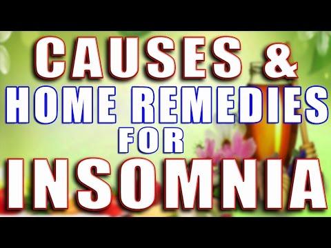 CAUSES & HOME REMEDIES FOR INSOMNIA II नींद ना आने के कारण और घरेलू उपचार II